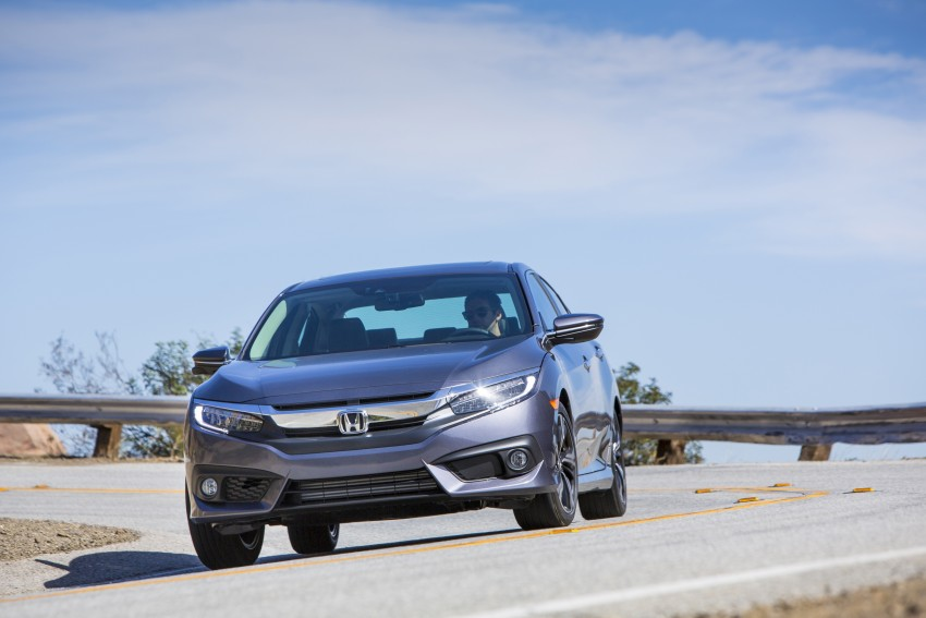 2016 Honda Civic – full technical details on the 10th gen sedan, which benchmarks the 3 Series, C-Class Image #394039