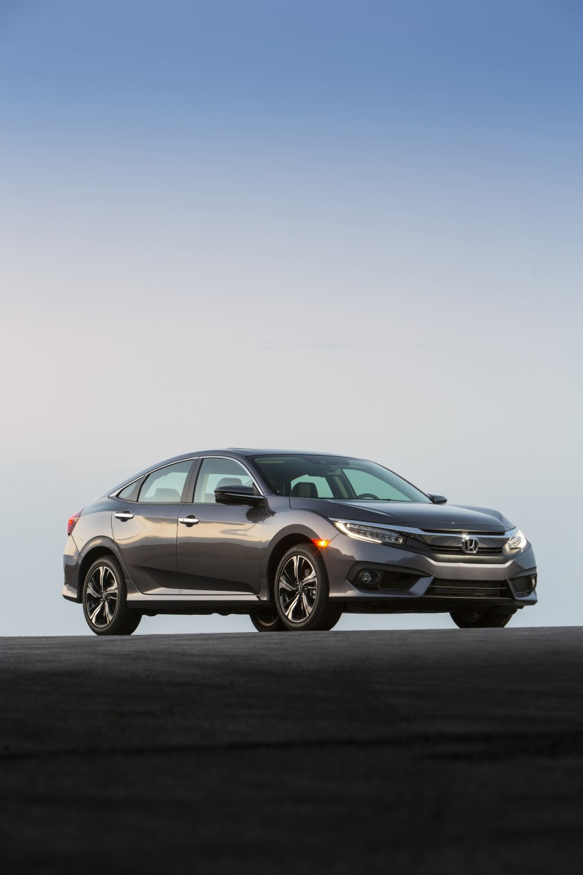 2016 Honda Civic – full technical details on the 10th gen sedan, which benchmarks the 3 Series, C-Class Image #394040