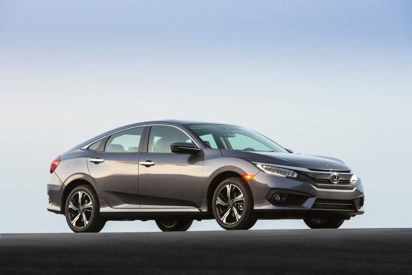 2016 Honda Civic – full technical details on the 10th gen sedan, which benchmarks the 3 Series, C-Class Image #394041