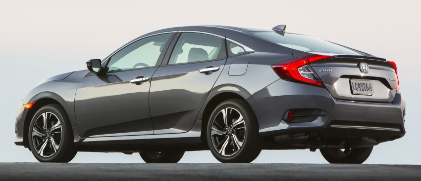 2016 Honda Civic – full technical details on the 10th gen sedan, which benchmarks the 3 Series, C-Class Image #394043