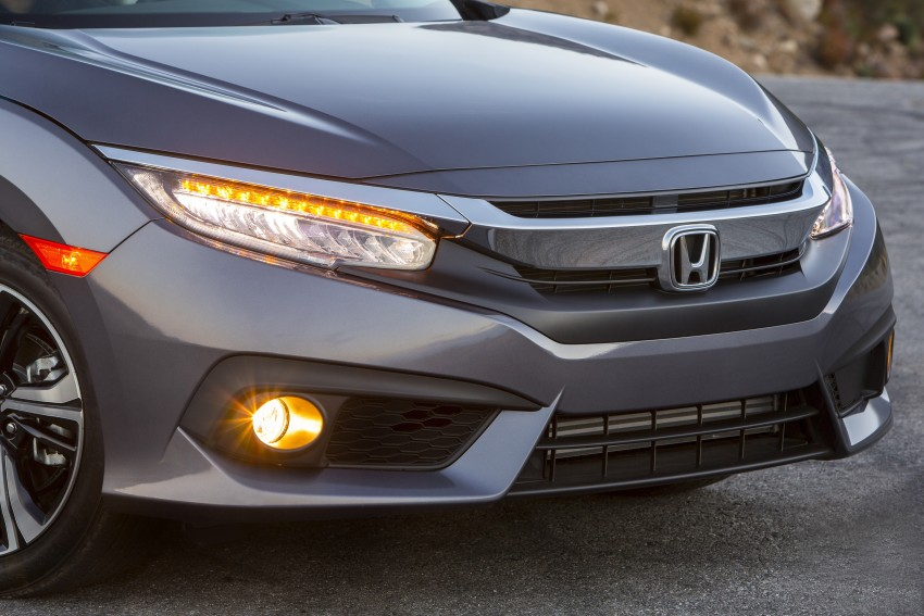 2016 Honda Civic – full technical details on the 10th gen sedan, which benchmarks the 3 Series, C-Class Image #394050