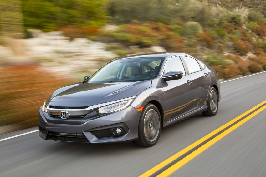 2016 Honda Civic – full technical details on the 10th gen sedan, which benchmarks the 3 Series, C-Class Image #394062