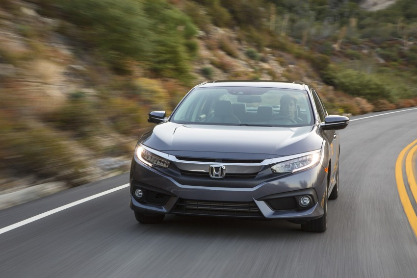 2016 Honda Civic – full technical details on the 10th gen sedan, which benchmarks the 3 Series, C-Class Image #394063