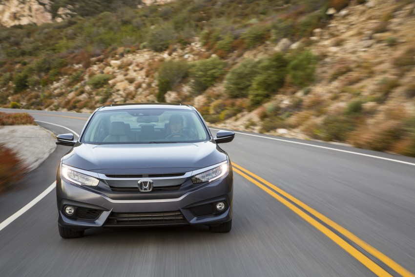 2016 Honda Civic – full technical details on the 10th gen sedan, which benchmarks the 3 Series, C-Class Image #394065