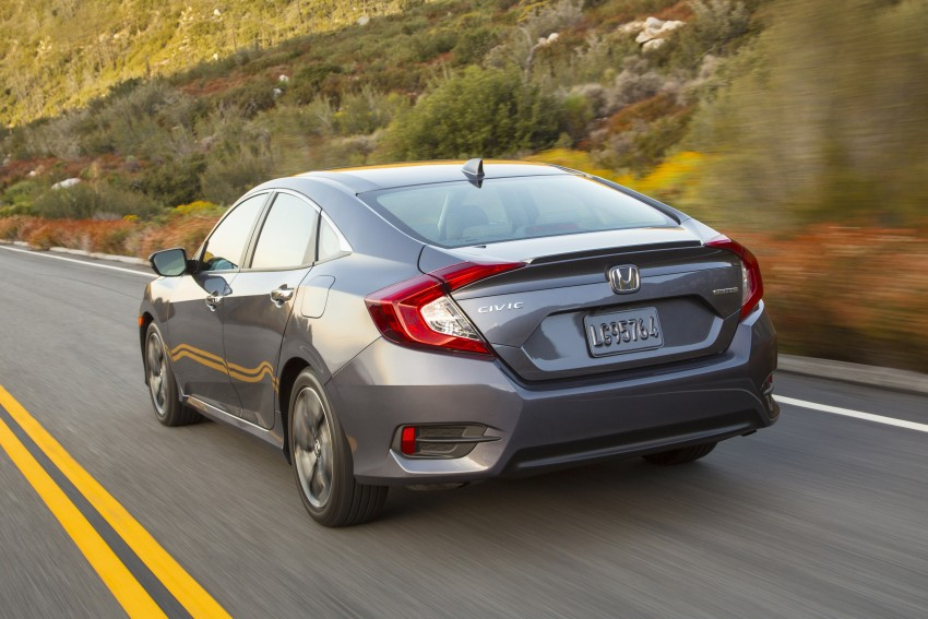 2016 Honda Civic – full technical details on the 10th gen sedan, which benchmarks the 3 Series, C-Class Image #394067