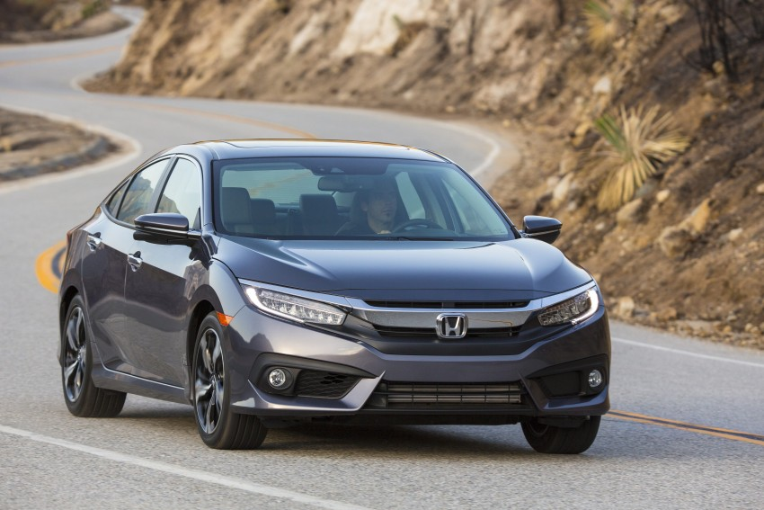 2016 Honda Civic – full technical details on the 10th gen sedan, which benchmarks the 3 Series, C-Class Image #394070