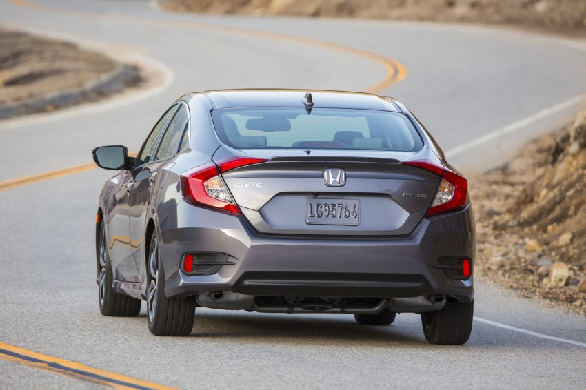 2016 Honda Civic – full technical details on the 10th gen sedan, which benchmarks the 3 Series, C-Class Image #394071