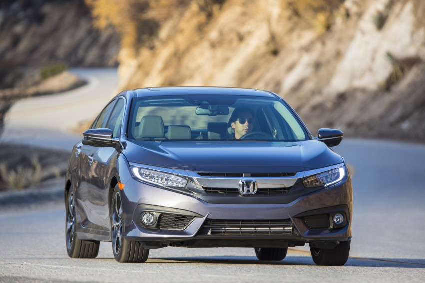 2016 Honda Civic – full technical details on the 10th gen sedan, which benchmarks the 3 Series, C-Class Image #394072
