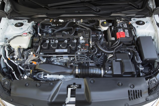 2016 honda civic powertrain detailed