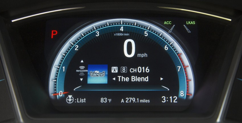 2016 Honda Civic – full technical details on the 10th gen sedan, which benchmarks the 3 Series, C-Class Image #394109