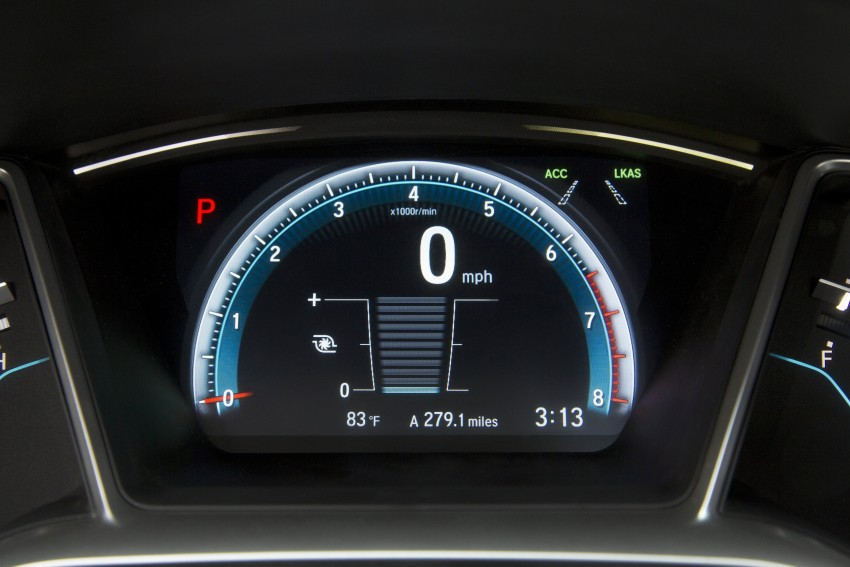 2016 Honda Civic – full technical details on the 10th gen sedan, which benchmarks the 3 Series, C-Class Image #394112