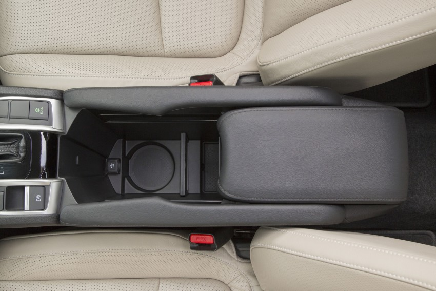 2016 Honda Civic – full technical details on the 10th gen sedan, which benchmarks the 3 Series, C-Class Image #394117
