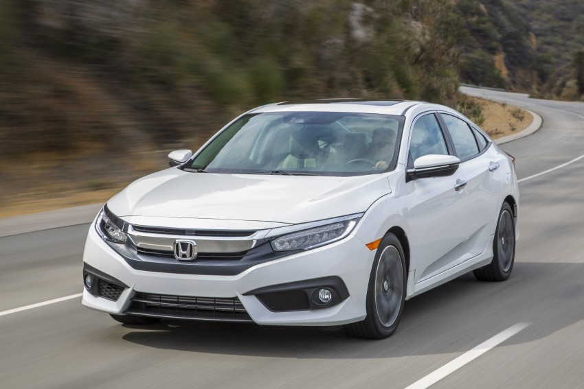 2016 Honda Civic – full technical details on the 10th gen sedan, which benchmarks the 3 Series, C-Class Image #394125