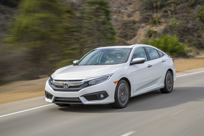 2016 Honda Civic – full technical details on the 10th gen sedan, which benchmarks the 3 Series, C-Class Image #394126