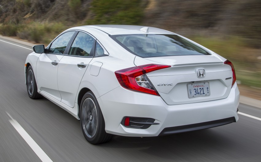 2016 Honda Civic – full technical details on the 10th gen sedan, which benchmarks the 3 Series, C-Class Image #394127