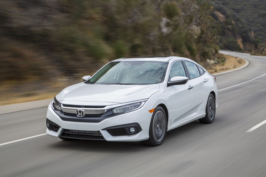 2016 Honda Civic – full technical details on the 10th gen sedan, which benchmarks the 3 Series, C-Class Image #394129