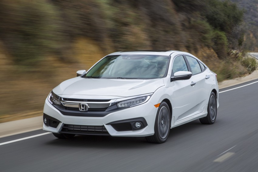 2016 Honda Civic – full technical details on the 10th gen sedan, which benchmarks the 3 Series, C-Class Image #394130