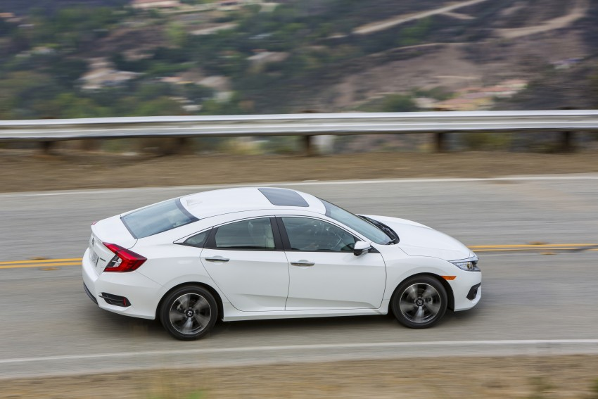 2016 Honda Civic – full technical details on the 10th gen sedan, which benchmarks the 3 Series, C-Class Image #394131