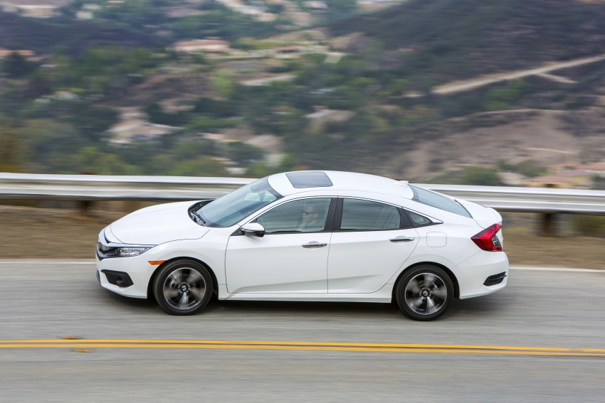 2016 Honda Civic – full technical details on the 10th gen sedan, which benchmarks the 3 Series, C-Class Image #394133