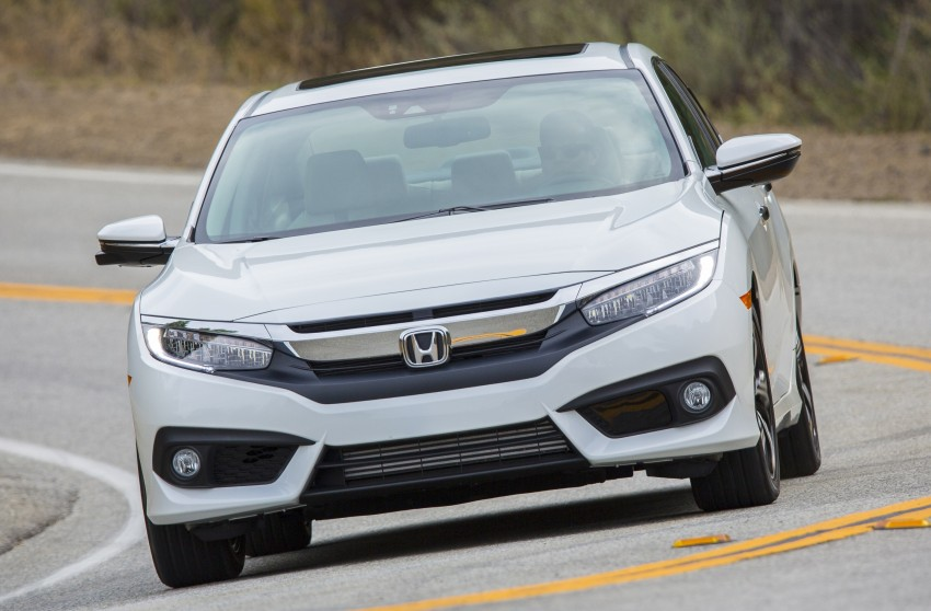 2016 Honda Civic – full technical details on the 10th gen sedan, which benchmarks the 3 Series, C-Class Image #394135