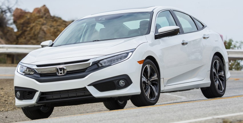 2016 Honda Civic – full technical details on the 10th gen sedan, which benchmarks the 3 Series, C-Class Image #394136