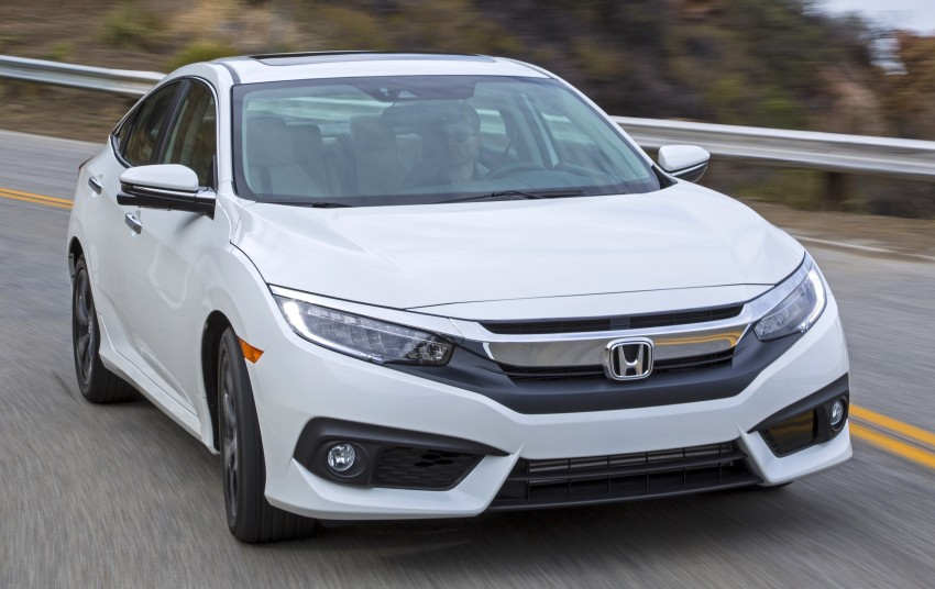 2016 Honda Civic – full technical details on the 10th gen sedan, which benchmarks the 3 Series, C-Class Image #394137