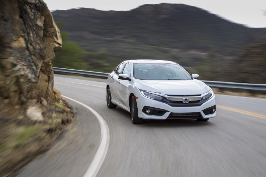 2016 Honda Civic – full technical details on the 10th gen sedan, which benchmarks the 3 Series, C-Class Image #394138