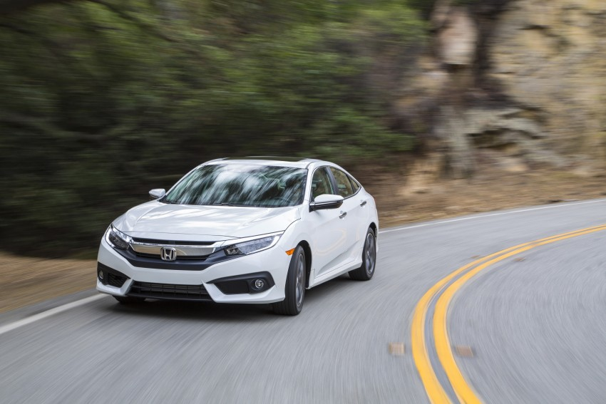2016 Honda Civic – full technical details on the 10th gen sedan, which benchmarks the 3 Series, C-Class Image #394139