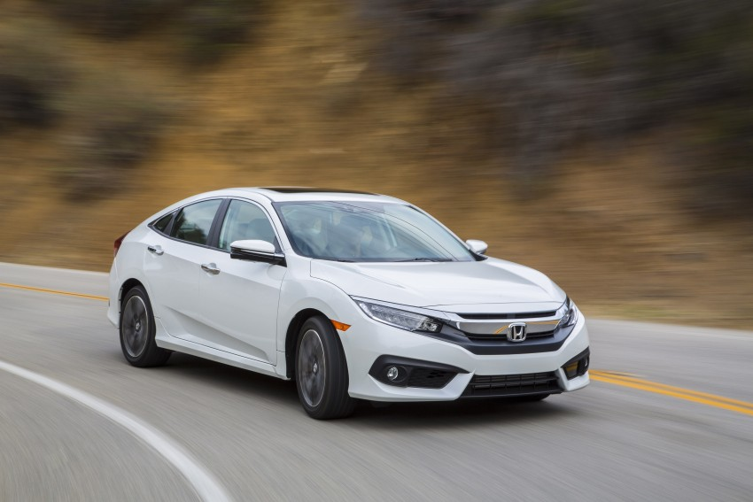 2016 Honda Civic – full technical details on the 10th gen sedan, which benchmarks the 3 Series, C-Class Image #394140