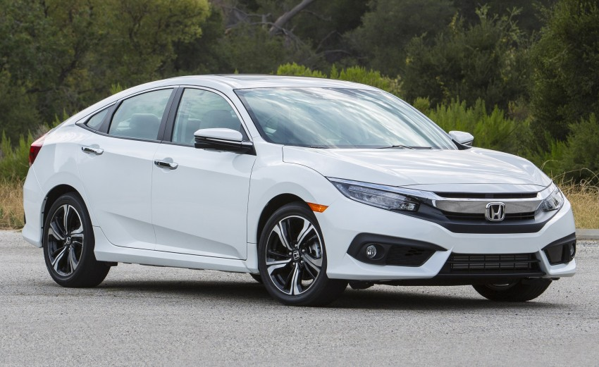 2016 Honda Civic – full technical details on the 10th gen sedan, which benchmarks the 3 Series, C-Class Image #394141