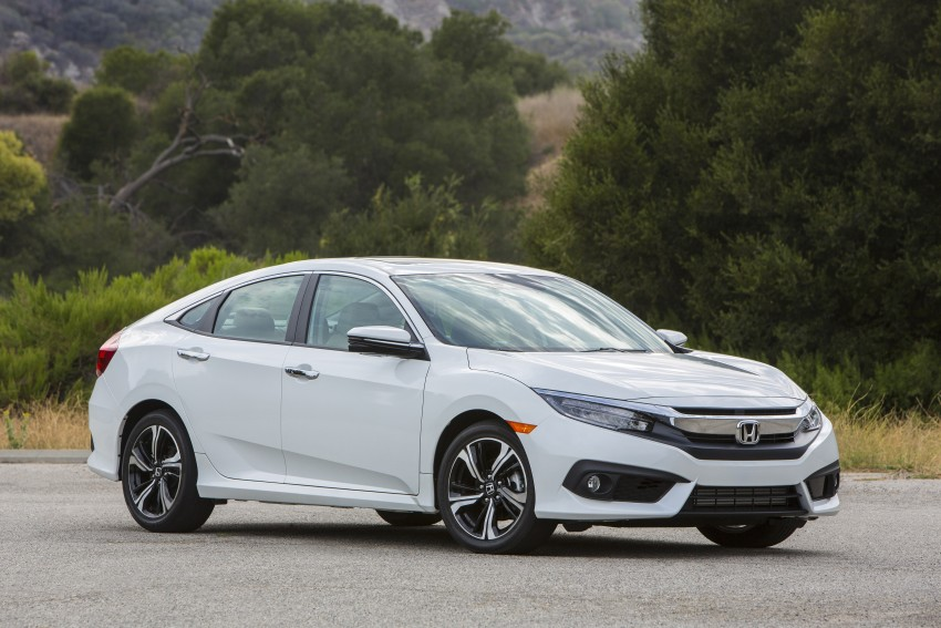 2016 Honda Civic – full technical details on the 10th gen sedan, which benchmarks the 3 Series, C-Class Image #394142