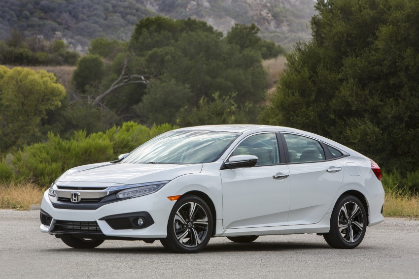 2016 Honda Civic – full technical details on the 10th gen sedan, which benchmarks the 3 Series, C-Class Image #394143