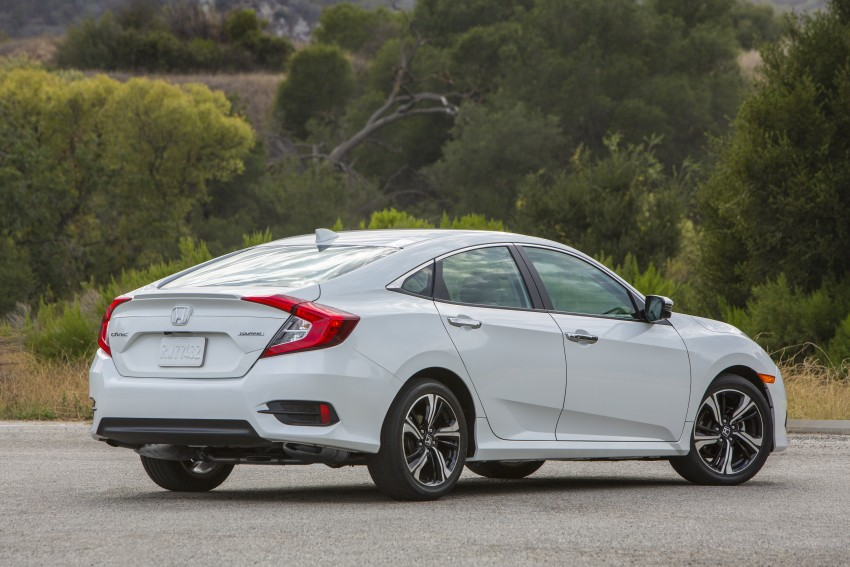 2016 Honda Civic – full technical details on the 10th gen sedan, which benchmarks the 3 Series, C-Class Image #394144
