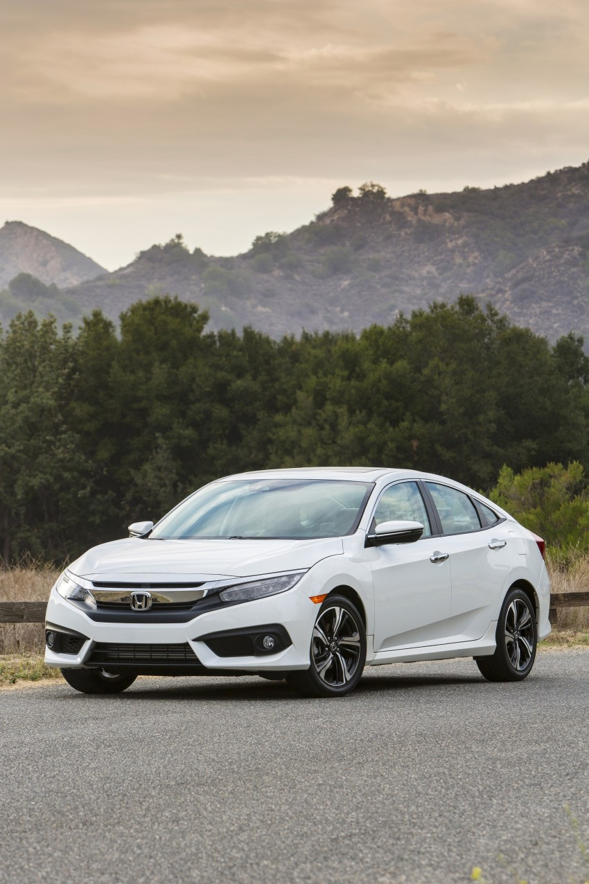 2016 Honda Civic – full technical details on the 10th gen sedan, which benchmarks the 3 Series, C-Class Image #394146
