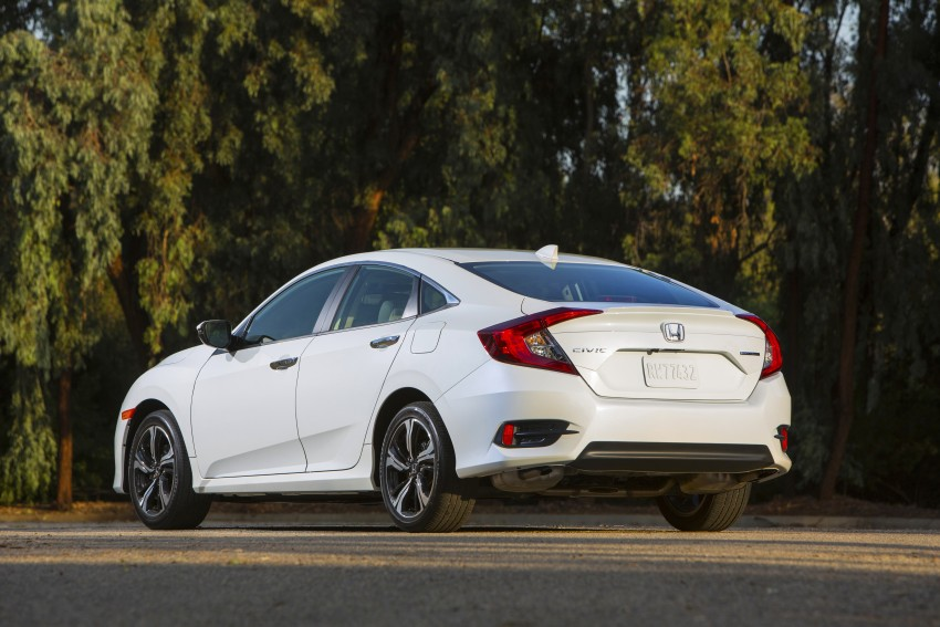 2016 Honda Civic – full technical details on the 10th gen sedan, which benchmarks the 3 Series, C-Class Image #394148