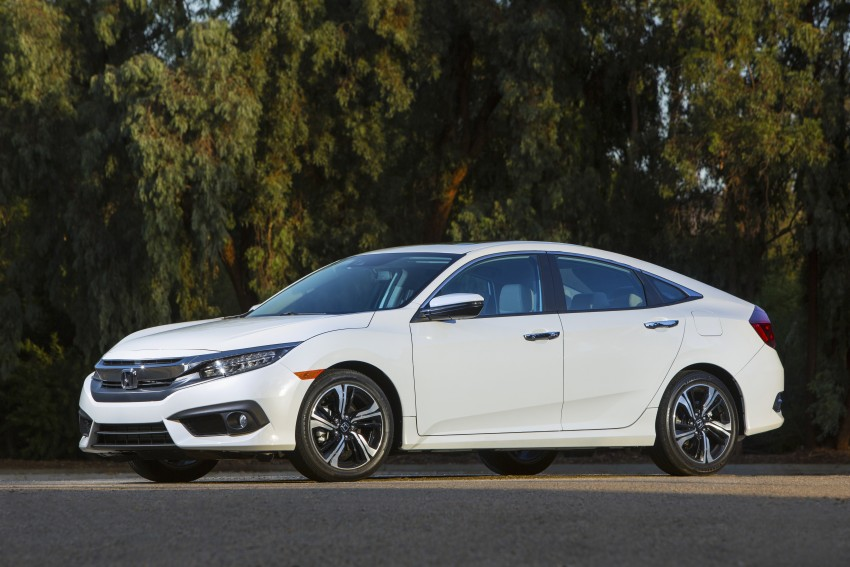 2016 Honda Civic – full technical details on the 10th gen sedan, which benchmarks the 3 Series, C-Class Image #394150