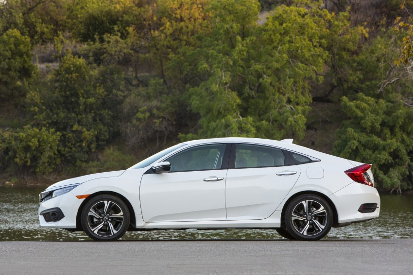 2016 Honda Civic – full technical details on the 10th gen sedan, which benchmarks the 3 Series, C-Class Image #394152