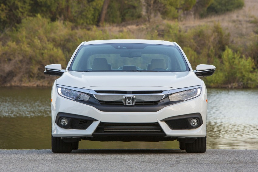 2016 Honda Civic – full technical details on the 10th gen sedan, which benchmarks the 3 Series, C-Class Image #394153