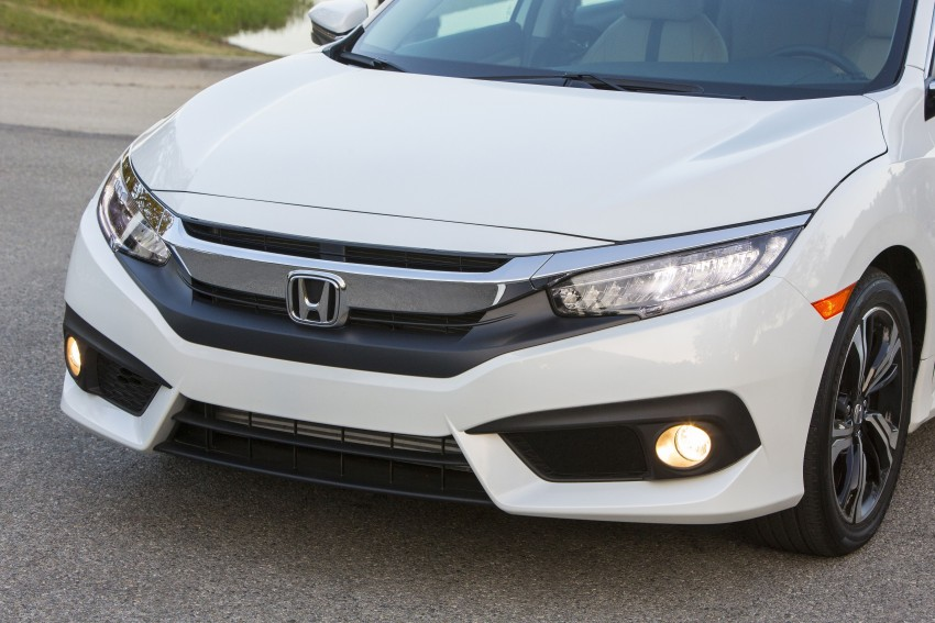 2016 Honda Civic – full technical details on the 10th gen sedan, which benchmarks the 3 Series, C-Class Image #394154