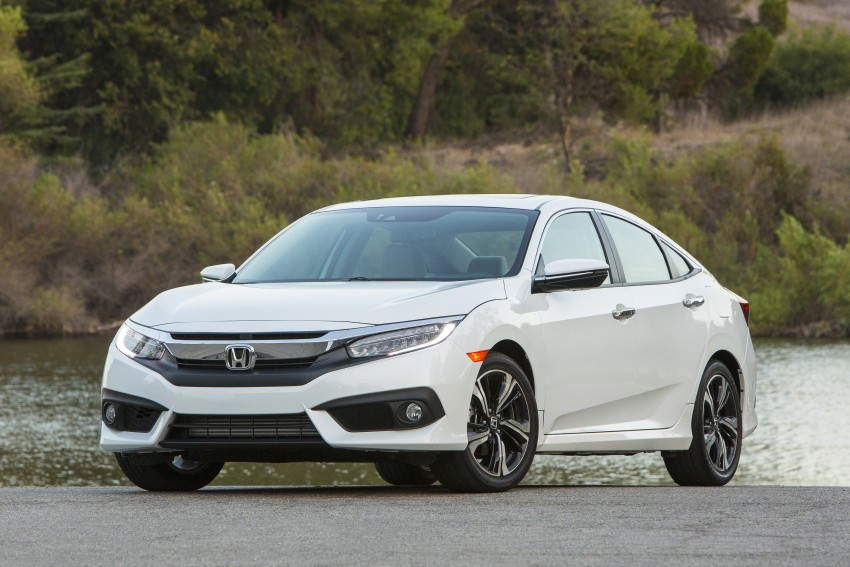 2016 Honda Civic – full technical details on the 10th gen sedan, which benchmarks the 3 Series, C-Class Image #394157