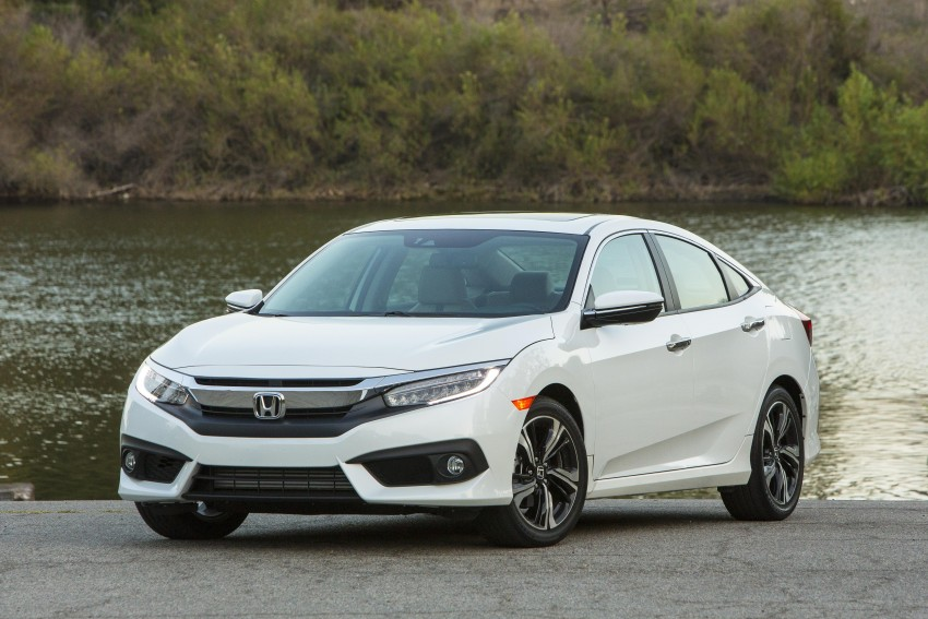 2016 Honda Civic – full technical details on the 10th gen sedan, which benchmarks the 3 Series, C-Class Image #394158