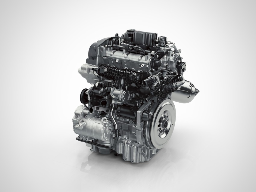 Volvo details new 1.5 litre, three-cyl T5 Twin Engine, seven-speed DCT for future XC40 SUV, V40 hatch Image #397447