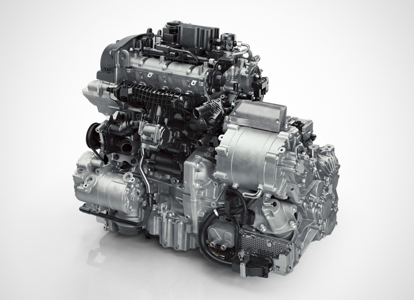 Volvo details new 1.5 litre, three-cyl T5 Twin Engine, seven-speed DCT for future XC40 SUV, V40 hatch Image #397448