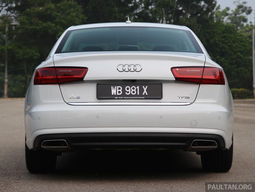 DRIVEN: 2015 Audi A6 1.8 TFSI – is cheaper better? Image #393179