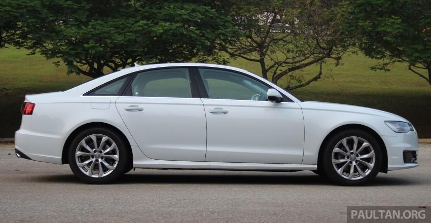 DRIVEN: 2015 Audi A6 1.8 TFSI – is cheaper better? Image #393180