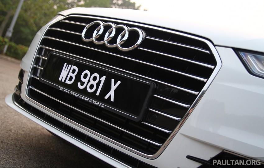 DRIVEN: 2015 Audi A6 1.8 TFSI – is cheaper better? Image #393185