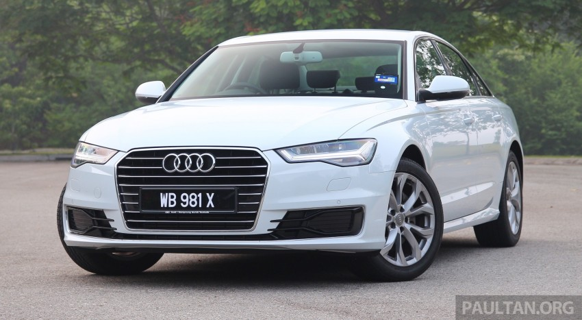 DRIVEN: 2015 Audi A6 1.8 TFSI – is cheaper better? Image #393291