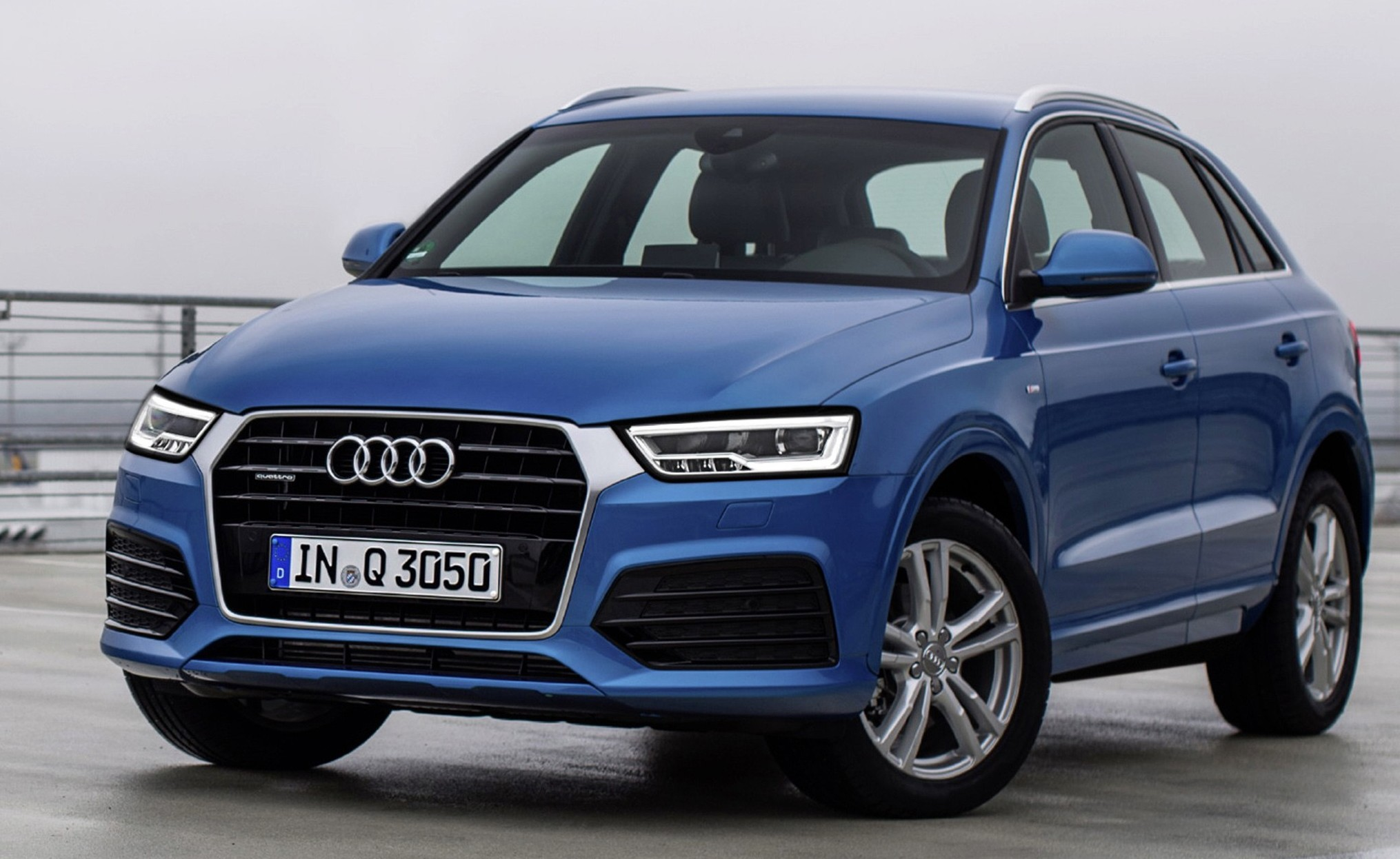 Audi Q3 facelift Malaysian brochures appear on site