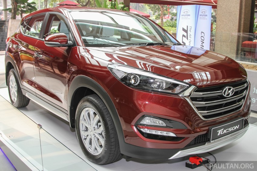 GALLERY: 2016 Hyundai Tucson roadshows preview unique ...