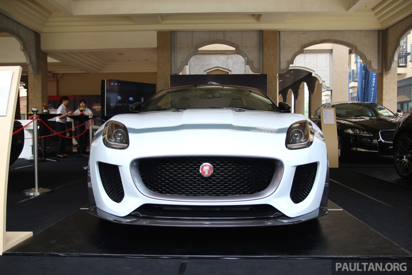 GALLERY: Jaguar F-Type Project 7 on display in Malaysia – legendary XJ220 supercar also on show Image #387424